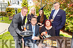 Launching the Bubbles and Brunch in aid of Enable Ireland Kerry Services which will be held in the Muckross Park Hotel on July 18th front l-r: Sean Scally, Back row: Chris Rogan, Josie O'Kelly, Megan Daly-Tyrell and Frits Potgieter