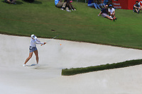 Chella Choi (KOR) in action on the 18th during Round 3 of the HSBC Womens Champions 2018 at Sentosa Golf Club on the Saturday 3rd March 2018.<br /> Picture:  Thos Caffrey / www.golffile.ie<br /> <br /> All photo usage must carry mandatory copyright credit (&copy; Golffile   Thos Caffrey)