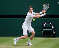 ANDY MURRAY (GBR)<br /> <br /> The Championships Wimbledon 2014 - The All England Lawn Tennis Club -  London - UK -  ATP - ITF - WTA-2014  - Grand Slam - Great Britain -  30th June 2014. <br /> <br /> &copy; AMN IMAGES
