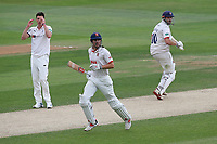 Alastair Cook and Nick Browne add to the Essex total during Essex CCC vs Yorkshire CCC, Specsavers County Championship Division 1 Cricket at The Cloudfm County Ground on 9th July 2019