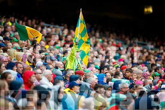 Kerry supporters at the All Ireland Semi Final in Croke Park on Sunday.