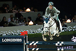 Emanuele Gaudiano of Italy rides Caspar 232 in action at the Longines Grand Prix during the Longines Hong Kong Masters 2015 at the AsiaWorld Expo on 15 February 2015 in Hong Kong, China. Photo by Aitor Alcalde / Power Sport Images