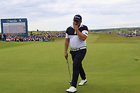 Zander Lombard (RSA) on the 18th green during Sunday's Final Round of the Dubai Duty Free Irish Open 2019, held at Lahinch Golf Club, Lahinch, Ireland. 7th July 2019.<br /> Picture: Eoin Clarke | Golffile<br /> <br /> <br /> All photos usage must carry mandatory copyright credit (© Golffile | Eoin Clarke)