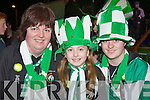 Eileen, Nathasha and Cassandra Myers Milltown/Castlemaine who welcomed home the team in Milltown on Monday night  ..