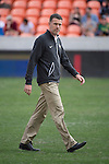 HOUSTON, TX - DECEMBER 11:  Head Coach Bobby Muus of Wake Forest University walks across the field before the Division I Men's Soccer Championship held at the BBVA Compass Stadium on December 11, 2016 in Houston, Texas.  Stanford defeated Wake Forest 1-0 in a penalty shootout for the national title. (Photo by Justin Tafoya/NCAA Photos via Getty Images)