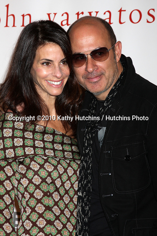 """Alice Cooper & John Varvatos .arriving at the """"We're All Fans"""" Event..John Varvatos Store.Los Angeles, CA.January 28, 2010.©2010 Kathy Hutchins / Hutchins Photo...."""