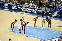 20 March 2006: Jillian Harmon during Stanford's 88-70 win over Florida State in the second round of the NCAA Women's Basketball championships at the Pepsi Center in Denver, CO. Candice Wiggins and Brooke Smith prepare to rebound.