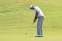 Gaganjeet Bhullar (IND) in action on the 7th during Round 3 of the Maybank Championship at the Saujana Golf and Country Club in Kuala Lumpur on Saturday 3rd February 2018.<br /> Picture:  Thos Caffrey / www.golffile.ie<br /> <br /> All photo usage must carry mandatory copyright credit (© Golffile | Thos Caffrey)