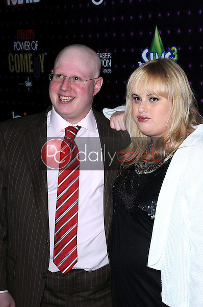 Matt Lucas and Rebel Wilson<br /> at Variety's 1st Annual Power Of Comedy Event, Club Nokia, Los Angeles, CA. 12-04-10<br /> David Edwards/DailyCeleb.com 818-249-4998