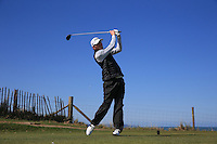 James Hobbs during Round Two of the West of England Championship 2016, at Royal North Devon Golf Club, Westward Ho!, Devon  23/04/2016. Picture: Golffile | David Lloyd<br /> <br /> All photos usage must carry mandatory copyright credit (&copy; Golffile | David Lloyd)