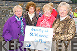 Listowel Mission Parade : Taking part in the Listowel Parish Mission parade on Sunday evening last were members of the Listowel branch of St. Vincent de Paul Society. L- R : Eileen O'Sullivan, Mary Sobieralski, Hannah Mulvihill & Tina Kinsella.
