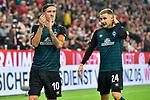 04.11.2018, Opel-Arena, Mainz, GER, 1 FBL, 1. FSV Mainz 05 vs SV Werder Bremen, <br /> <br /> DFL REGULATIONS PROHIBIT ANY USE OF PHOTOGRAPHS AS IMAGE SEQUENCES AND/OR QUASI-VIDEO.<br /> <br /> im Bild: Max Kruse (SV Werder Bremen #10), Johannes Eggestein (SV Werder Bremen #24)<br /> <br /> Foto © nordphoto / Fabisch