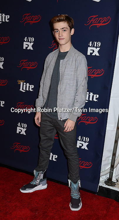 actor Keidrich Sellati attends FX's 2017 All-Star Upfront on  April 6, 2017 at SVA Theater in New York, New York, USA. <br /> <br /> photo by Robin Platzer/Twin Images<br />  <br /> phone number 212-935-0770