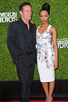 Jason Isaacs &amp; Sonequa Martin-Green at CBS TV's Summer Soiree at CBS TV Studios, Studio City, CA, USA 01 Aug. 2017<br /> Picture: Paul Smith/Featureflash/SilverHub 0208 004 5359 sales@silverhubmedia.com