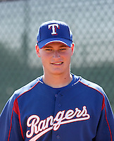 Matt West / Texas Rangers 2008 Instructional League..Photo by:  Bill Mitchell/Four Seam Images
