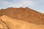 Israel, The Negev. Mount Shlomo in Eilat Mountains