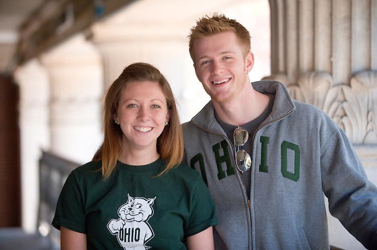Campus shots: Hannah Tangi and Ryan Dease