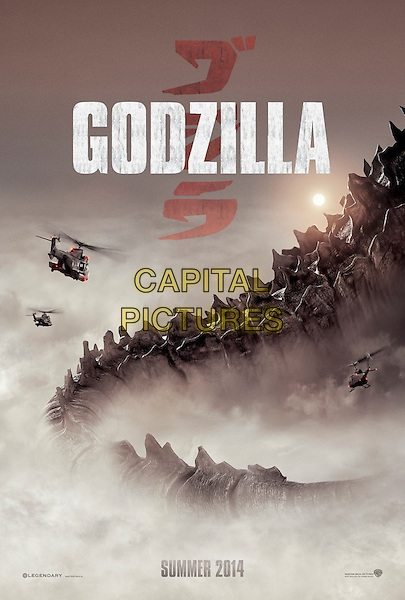 POSTER ART<br /> in Godzilla (2014) <br /> *Filmstill - Editorial Use Only*<br /> CAP/FB<br /> Image supplied by Capital Pictures