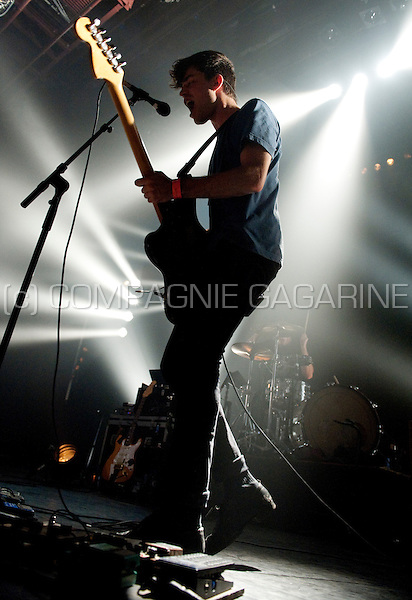 Belgian rock band Balthazar in concert at the Botanique, Brussels (Belgium, 22/09/2010)