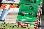 Books by author Kevin Crossley-Holland, Sprit of Beowulf event, Woodbridge, Suffolk, England, UK - 5th May 2018