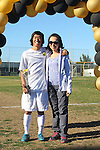 Palos Verdes, CA 02/09/12 - Mikey Hoshina (Peninsula #11) during the open ceremony on parents' day.