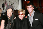 "Vera Wang, Suze Orman, and Evan Lysacek, at the Rebecca Moses ""A Life of Style"" book signing at Fratelli Rossetti Boutique, November 11, 2010."