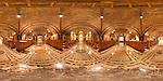 360-degree panorama of the lower crypt church in the Basilica of the National Shrine of the Immaculate Conception in Washington, DC.  Built on land donated by the Catholic University of America, the Basilica of the National Shrine of the Immaculate Conception is North America's largest Roman Catholic church and 10th largest church in the world.