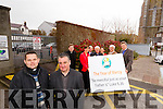 Pictured at the launch of the Year of Mercy at St. John's Parish Centre on Monday were, front: Fr. Peter Delimat and Fr. Francis Nolan. Back, from left: Fr. Bernard Healy, Norma Foley, Bill Looney, Fr. Seamus Lenanne, Ann O'Shea-Daly, Denis Kelliher and Conor Fitzgerald.