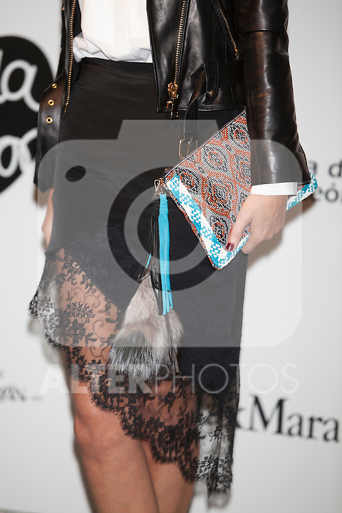 Model Mar Flores attends Santiago Palacio´s fashion show in Madrid, Spain. November 13, 2014. (ALTERPHOTOS/Victor Blanco)