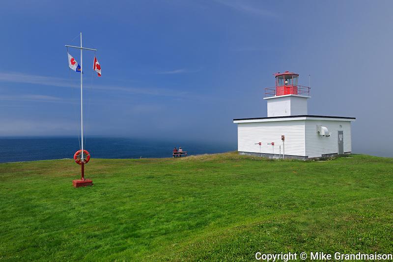 Grand Passage Lighthouse<br /> Brier Island<br /> Nova Scotia<br /> Canada