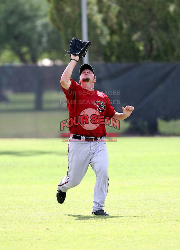 Ryne White / Arizona Diamondbacks 2008 Instructional League..Photo by:  Bill Mitchell/Four Seam Images