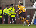15/12/2007      Copyright Pic: James Stewart.File Name : sct_jspa06_motherwell_v_aberdeen.ROSS MCCORMACK CELEBRATES AFTER HE SCORES MOTHERWELL'S FIRST.James Stewart Photo Agency 19 Carronlea Drive, Falkirk. FK2 8DN      Vat Reg No. 607 6932 25.Office     : +44 (0)1324 570906     .Mobile   : +44 (0)7721 416997.Fax         : +44 (0)1324 570906.E-mail  :  jim@jspa.co.uk.If you require further information then contact Jim Stewart on any of the numbers above.........