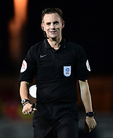 Referee Ross Joyce<br /> <br /> Photographer Chris Vaughan/CameraSport<br /> <br /> The EFL Checkatrade Trophy Group H - Lincoln City v Mansfield Town - Tuesday September 4th 2018 - Sincil Bank - Lincoln<br />  <br /> World Copyright © 2018 CameraSport. All rights reserved. 43 Linden Ave. Countesthorpe. Leicester. England. LE8 5PG - Tel: +44 (0) 116 277 4147 - admin@camerasport.com - www.camerasport.com