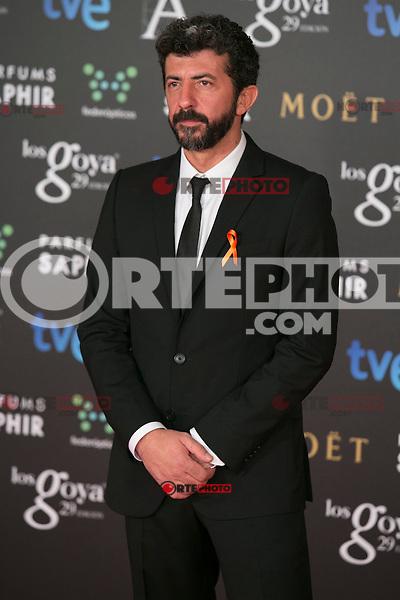 Alberto Rodriguez attend the 2015 Goya Awards at Auditorium Hotel, Madrid,  Spain. February 07, 2015.(ALTERPHOTOS/)Carlos Dafonte) /NORTEphoto.com