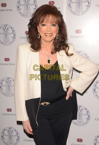 22 April 2014 - Los Angeles, California - Jackie Collins. Arrivals for the Women's Guild Cedars-Sinai Spring Luncheon held at the Beverly Hills Hotel in Beverly Hills, Ca. <br /> CAP/ADM/BT<br /> &copy;Birdie Thompson/AdMedia/Capital Pictures