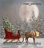 Marcello, CHRISTMAS SYMBOLS, WEIHNACHTEN SYMBOLE, NAVIDAD SÍMBOLOS, paintings+++++,ITMCXM1993A,#XX#,slade,reindeer