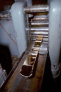 Oct 1971, Washington DC. Flattening gold bar for making special edition commemorative coins.