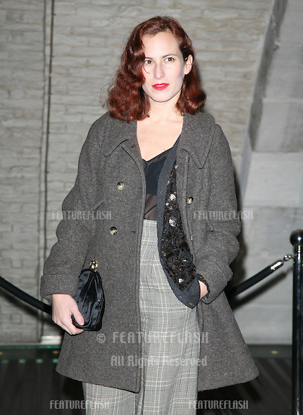 Charlotte Dellal attending the Dior Illustrated: Rene Gruau and the Line of Beauty', exhibition private view, Somerset House, London. 09/11/2010  Picture by: Alexandra Glen / Featureflash