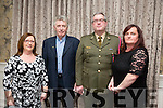 l-r  Marie O'Brien, Tom O'Brien, Brian Rusk and Noreen Rusk at The Rose Hotel (Fels Point) Launch of refurbished hotel on Friday