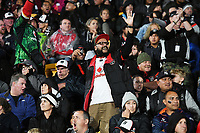 Fans and supporters.<br /> NRL Premiership rugby league. Vodafone Warriors v St George Illawarra. Mt Smart Stadium, Auckland, New Zealand. Friday 20 April 2018. &copy; Copyright photo: Andrew Cornaga / www.Photosport.nz