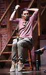 """Anthony Lee Medina from the 'Hamilton' cast during a Q & A before The Rockefeller Foundation and The Gilder Lehrman Institute of American History sponsored High School student #EduHam matinee performance of """"Hamilton"""" at the Richard Rodgers Theatre on June 6, 2018 in New York City."""
