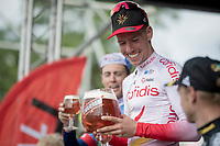 Kenneth Vanbilsen (BEL/Cofidis) wins Dwars door het Hageland 2019 (1.1)<br /> <br /> 1 day race from Aarschot to Diest (BEL/204km)<br /> <br /> ©kramon