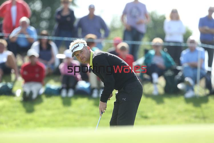 ISPS Handa Wales Open 2013<br /> S&oslash;ren KJELDSEN<br /> 01.09.13<br /> <br /> &copy;Steve Pope-Sportingwales