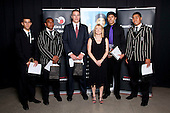 Junior Sportsman of the Year finalists. Counties Manukau Sport Sporting Excellence Awards held at Testra Clear Pacific Events Centre, Manukau, on Thursday 9th December 2010.