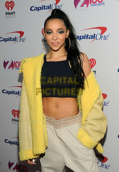 NEW YORK, NY - DECEMBER 9 : Tinashe at the Z100 Jingle Ball 2016 at Madison Square Garden in New York City on December 9, 2016. <br /> CAP/MPI/JP<br /> &copy;JP/MPI/Capital Pictures