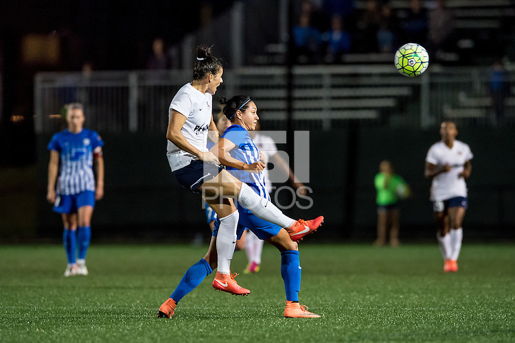 Allston, MA - Friday June 10, 2016:  during a regular season National Women's Soccer League (NWSL) match between the Boston Breakers and the Washington Spirit at Jordan Field.