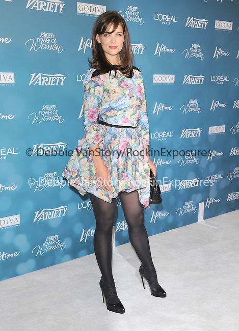 Katie Holmes Cruise at Variety's 2nd Annual Power of Women Luncheon held at The Beverly Hills Hotel in Beverly Hills, California on September 30,2010                                                                               © 2010 Hollywood Press Agency