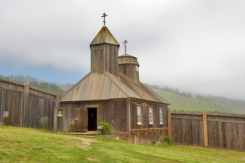 Chapel at Fort Ross State historic Park. California