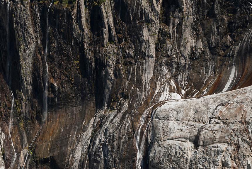 Rocks carved smooth by the Argentière Glacier, September 2007