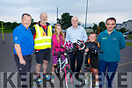 Ian Duggan from 4Site Network presenting helmets on behalf of his company to Tralee Chain Gang and to the Kerry Recreation and Sports Partnership on Tuesday night .<br /> L-r, John Murray, George Emerson, Emily Malakhova, Ian Duggan, Brian O'Driscoll and Padraig McCannon,